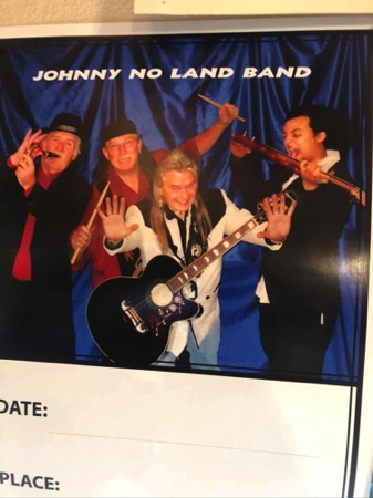 Johnny No Land Band - Howes Maniac Mike, Johnson, Fowler